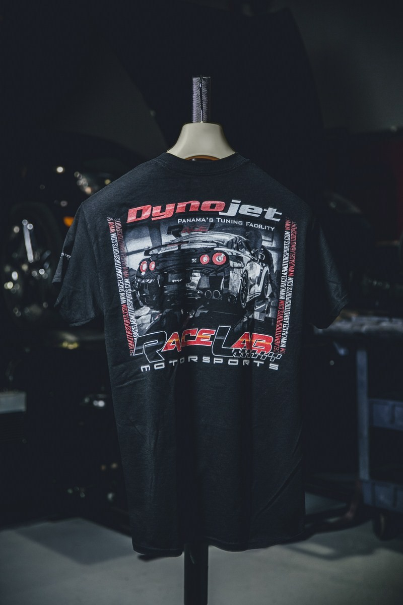 01 TSHIRT DYNO JET VERSION- GTR  REAR - S,M,L ,XL 2XL COST- $25