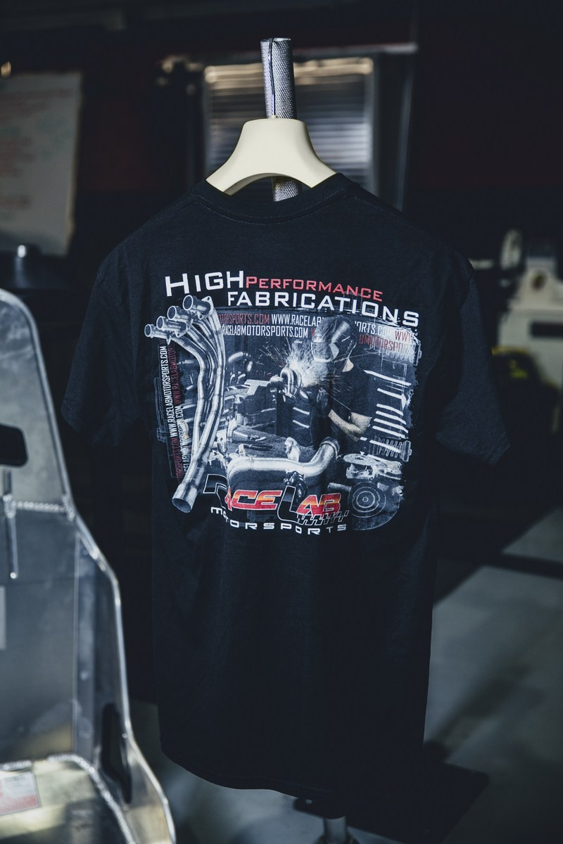 04 TSHIRT HIGH PERFORMANCE FABRICATIONS VERSION REAR- S,M,L ,XL 2XL COST- $25
